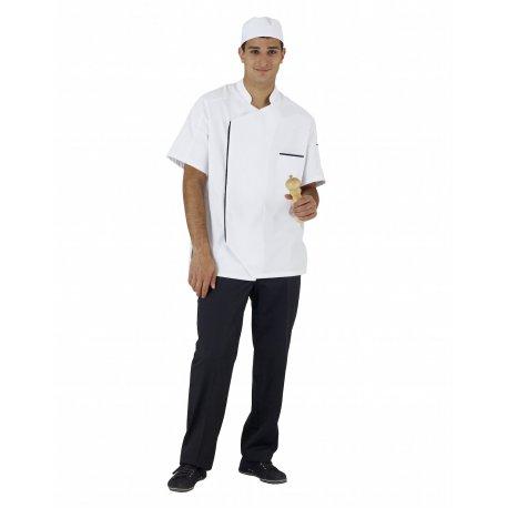 Veste de Cuisine Homme avec pli dans le dos
