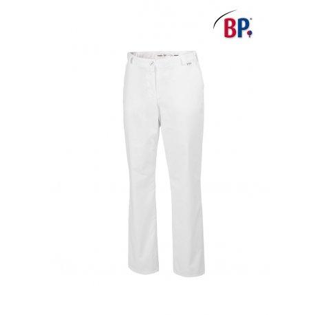 Pantalon blanc médical Femme avec élasthane