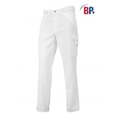 Pantalon Médical femme coupe jean blanc-BP-