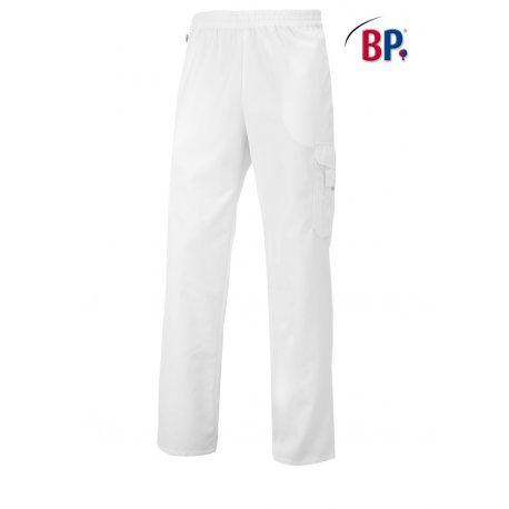 Pantalon Médical blanc cordon de serrage-BP-