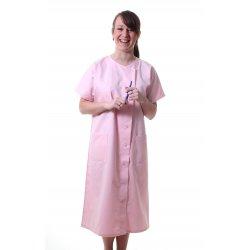 Blouse rose Femme de Ménage polycoton -TEXSAN-