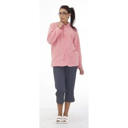 Polaire Pour Femme Rose 100% polyester-REMI-