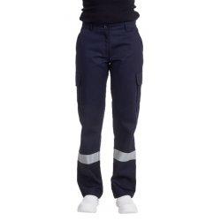 Pantalon Ambulancier marine femme bande réfléchissante-REMI-
