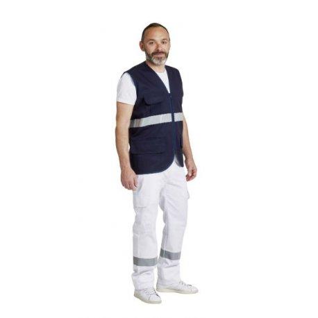 Gilet AMbulancier marine sans manches-REMI-