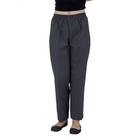 Pantalon médical gris unisex sans poche-REMI-