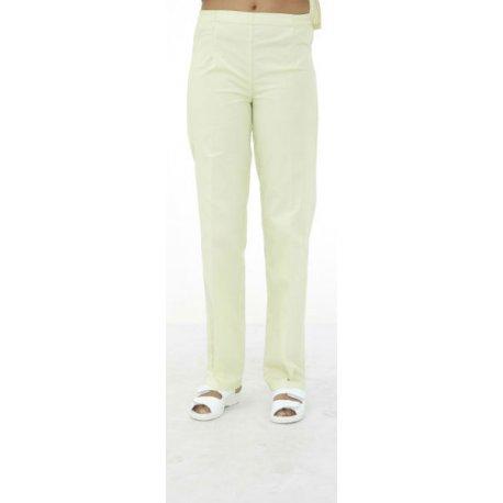 Pantalon Médical blanc Femme ventre plat-REMI-