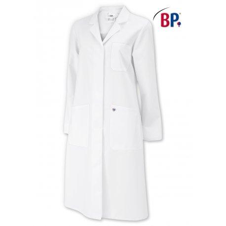Blouse de laboratoire 100% coton pour femmes cintré-BP-