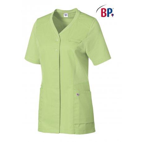 Blouse Pharmacie de couleur couleur anis polycoton-BP-