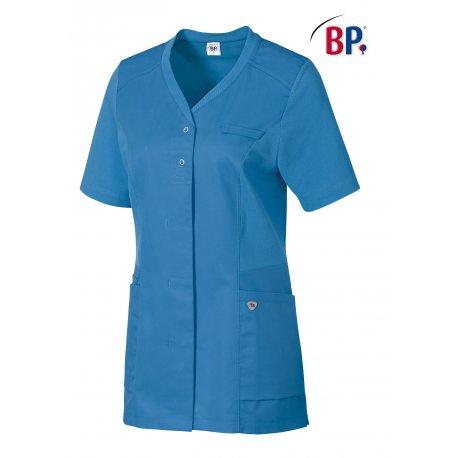 Blouse pour pharmacie bleu roi longueur 75 cm-BP-