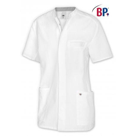Blouse Médicale pour Homme manches courtes avec empiécement-BP-