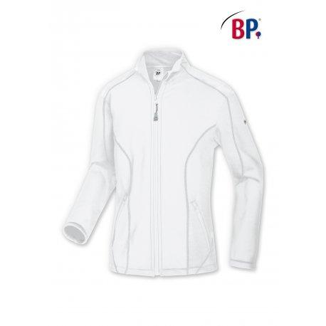 Polaire médicale blanche pour homme strech-BP-