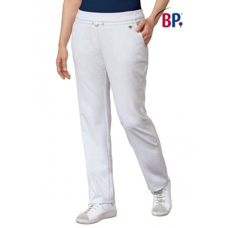 Pantalon blanc Médical Femme grand Confort-BP-