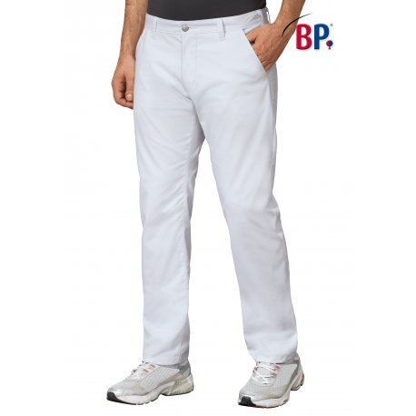 Pantalon médical homme coupe chino