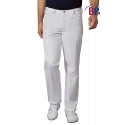 Pantalon blanc médical homme très confortable-BP-