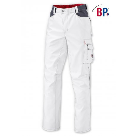 Pantalon de Travail blanc très résistant-BP-
