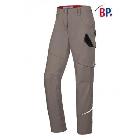 Pantalon de Travail Femme gris moyen-BP-
