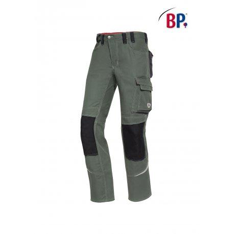 Pantalon de Travail vert avec poches fonctionnelles-BP-