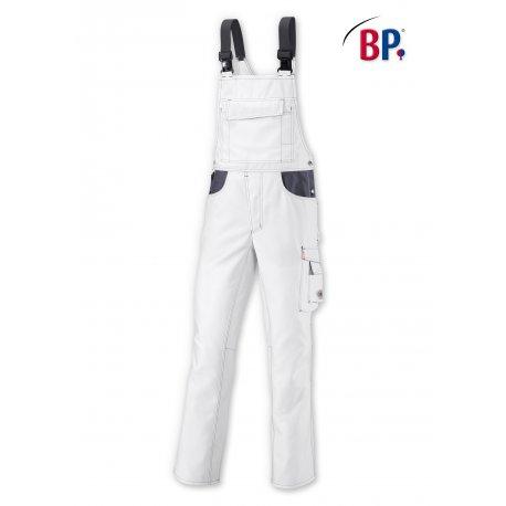 Salopette de travail blanche avec renfort fessier-BP-