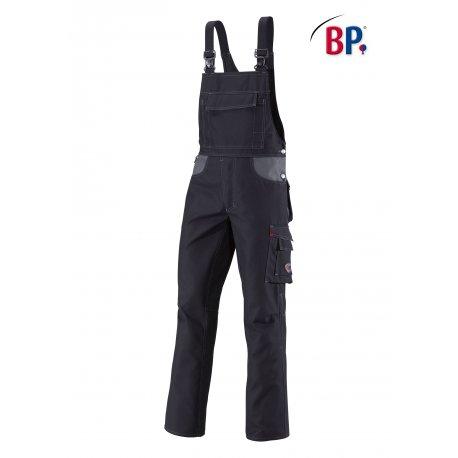 Cotte à bretelle Noire avec renfort fessier-BP-