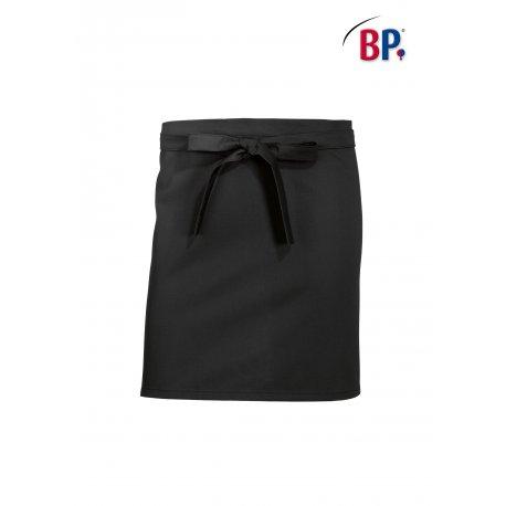 Tablier Bistrot Noir 60 cm polycoton -BP-