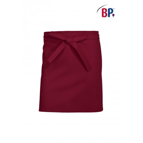 Tablier de cuisine Bordeaux 60 cm polycoton -BP-