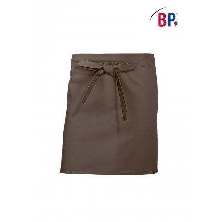 Tablier Bistrot Taupe 60 cm polycoton -BP-