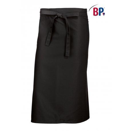 Tablier Bistro Noir 90 cm polycoton -BP-