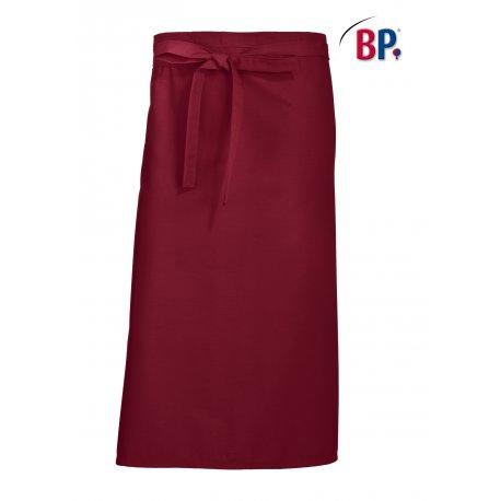 Tablier Bistrot Bordeaux 90 cm polycoton -BP-