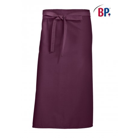 Tablier Bistro Prune 90 cm polycoton -BP-