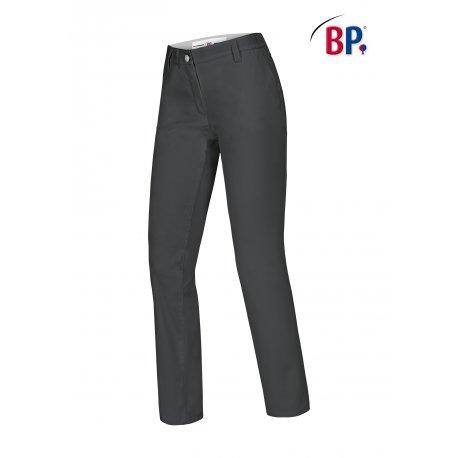 Pantalon de cuisine Femme chino Gris -BP-