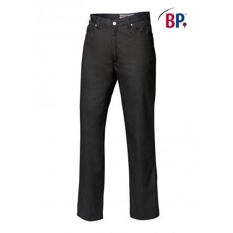 Pantalon de cuisine noir Coupe jean Hommes élègant