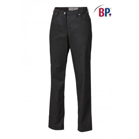 Pantalon de Cuisine noir coupe jean Femme -BP-