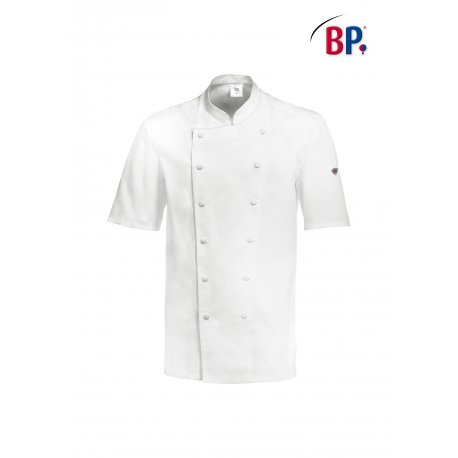 Veste de cuisine Manches Courtes 100% Coton -BP-