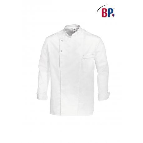 Veste de cuisine Manches longues Polycoton blanche-BP-