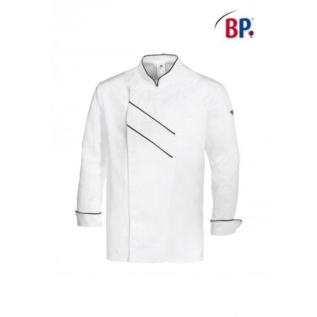 Veste de Cuisine Grand Chef Blanche avec liseré-BP-