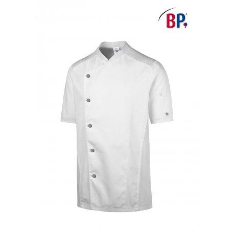 Veste cuisinier Homme Confort Manches courtes -BP-