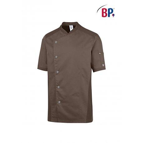 Veste de Cuisine Homme Grand Confort couleur Taupe-BP-