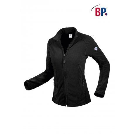 Veste Polaire noire pour Femme fermeture Zip-BP-