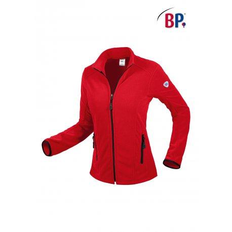 Veste Polaire Passe Couloir pour Femme rouge-BP-