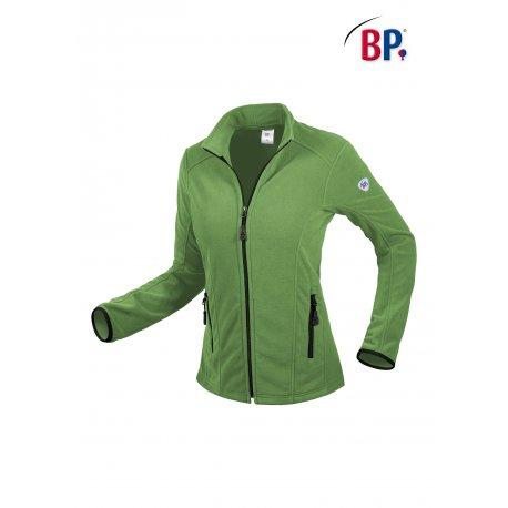 Polaire Médicale pour Femme vert avec zip-BP-