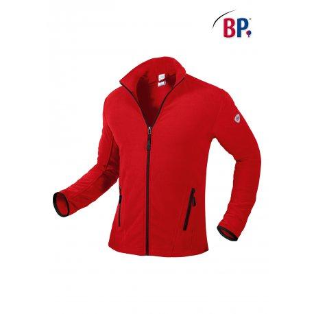 Veste Polaire homme Couleur Rouge avec poches et zip-BP-