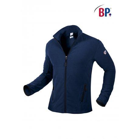 Passe Couloir Homme Médical bleu nuit avec zip-BP-