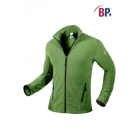 Veste Passe Couloir Homme vert avec poches et zip-BP-