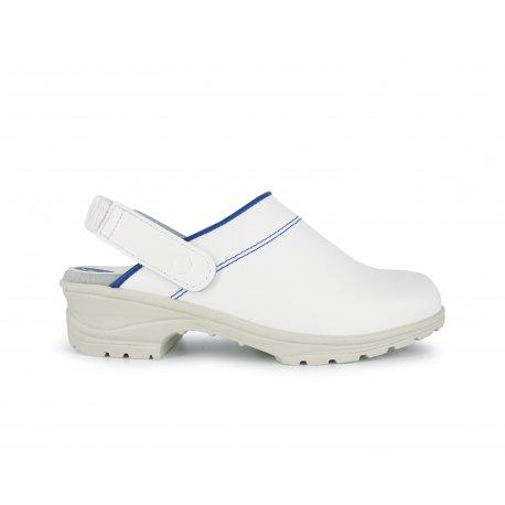 Chaussure de Cuisine Blanche sans coque confortable-NORDWAYS