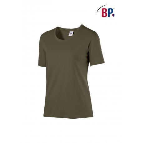 T-Shirt de travail Femme coton et élasthane-BP-