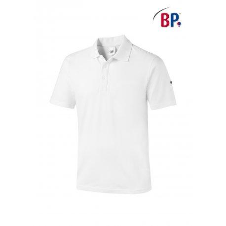 Polo Unisexe pour le travail blanc coton et élasthane-BP-