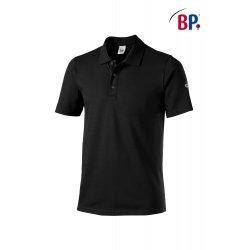 Polo Professionnel Unisexe Noir coton et élasthane-BP-