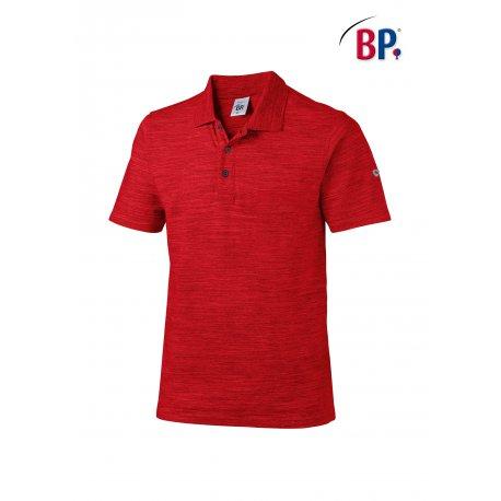 Polo Rouge Professionnel coton et élasthane-BP-