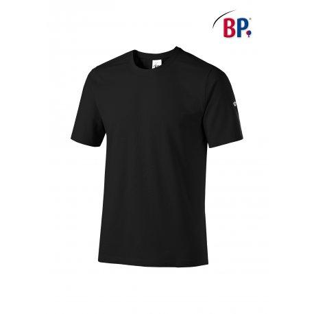 T-Shirt de Travail noir mixte coton et élasthane-BP-