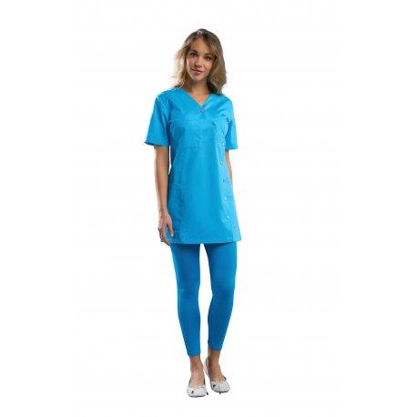 Blouse pour Pharmacienne couleur atoll -REMI-
